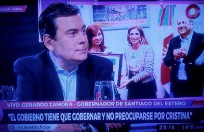 Ahora: Zamora en el programa de Viviana Canosa