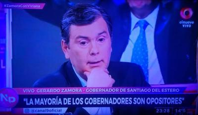 Zamora: «en  ningún lugar ni en la historia del mundo existe un bochorno financiero como este»