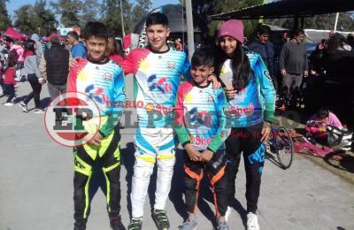 Destacada participación de Bikers Fernandenses en la Catedral del BMX