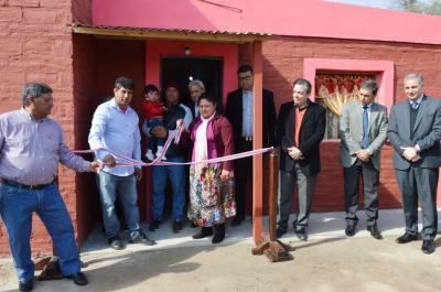 Antajé celebró  219 años con  entrega de viviendas sociales