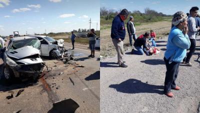 Fernández: Violento accidente dejó varios heridos sobre la ruta 34