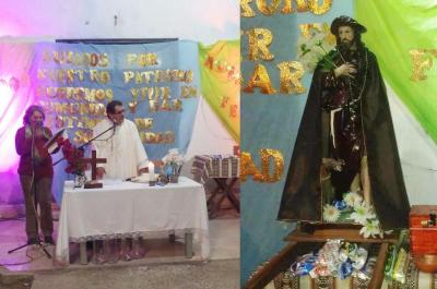 San Roque convocó a cientos de fieles devotos