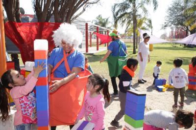 """""""Jugando en familia"""", la iniciativa de The Human Safety Net llegó a Santiago del Estero"""