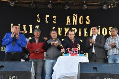 Sabagasta festejo su aniversario con inauguración de viviendas sociales
