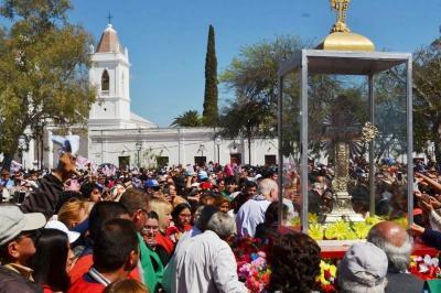 Este domingo 15 de septiembre se realiza la fiesta chica del Señor de los Milagros de Mailín