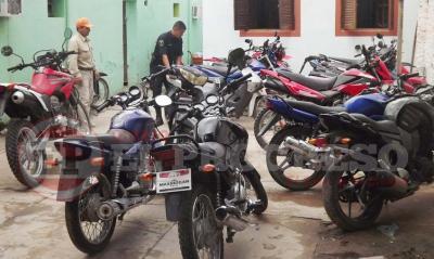Fernández: secuestran 49 motos en amplio operativo de control vehicular