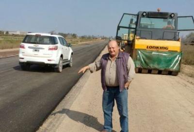 Destacan la la pronta construcción de la Ruta Provincial N° 206